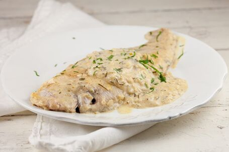 Tongfilet met cidersaus