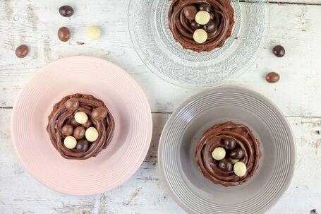 Chocolade paasnestjes
