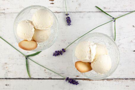 Lavendel-honingijs