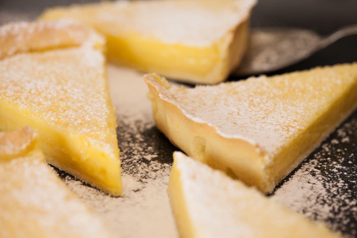 Franse citroentaart
