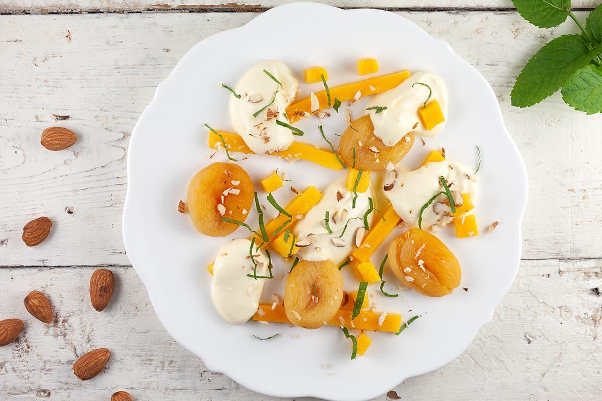 Warme abrikozen