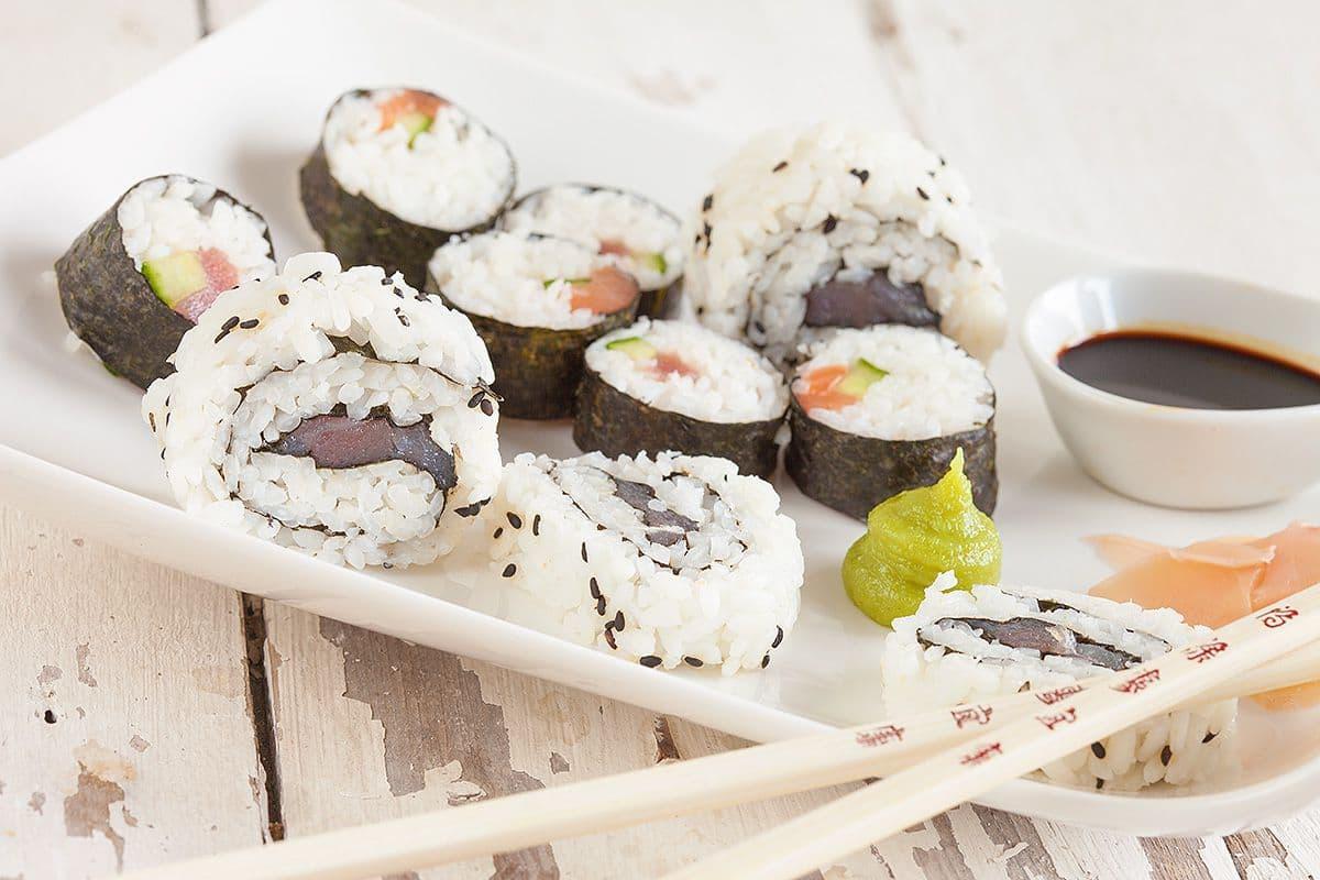 Zelf maki sushi maken