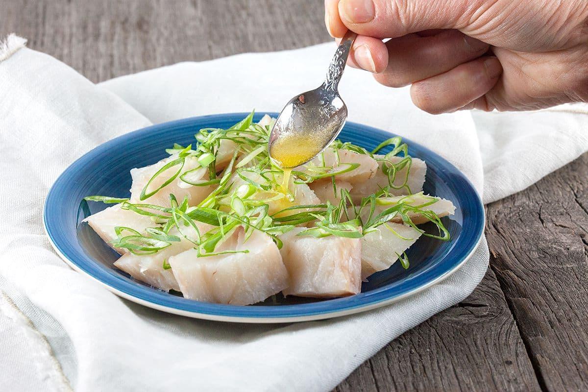 Turkse zoute vis