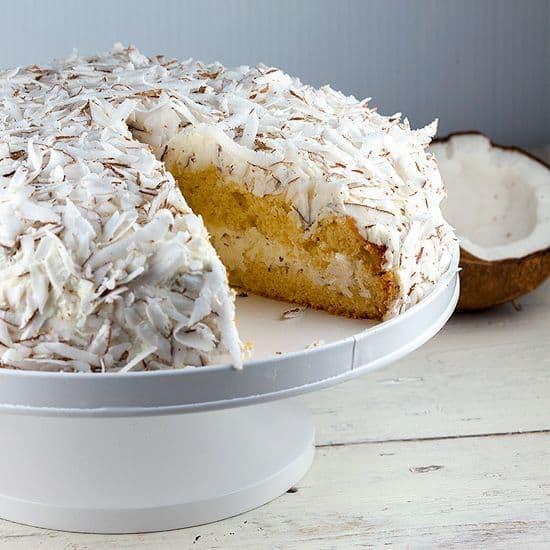Kokosnoot taart