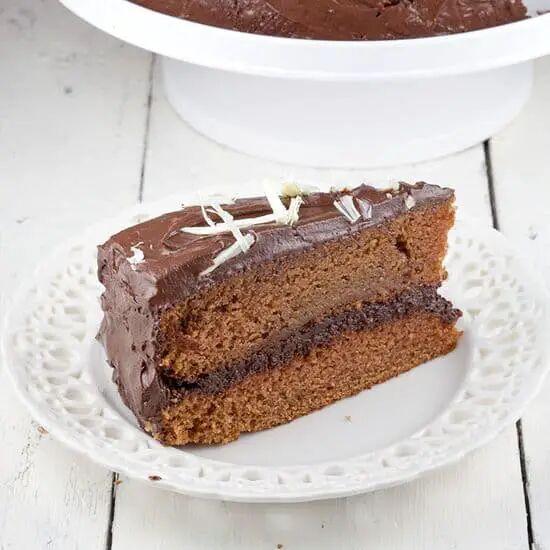 Chocolade lagen taart