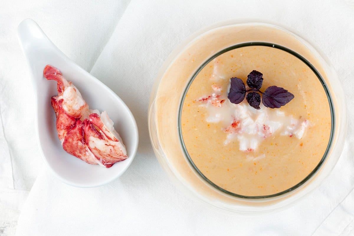 Bisque de homard - kreeftensoep
