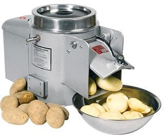 Wat is een aardappelschilmachine?