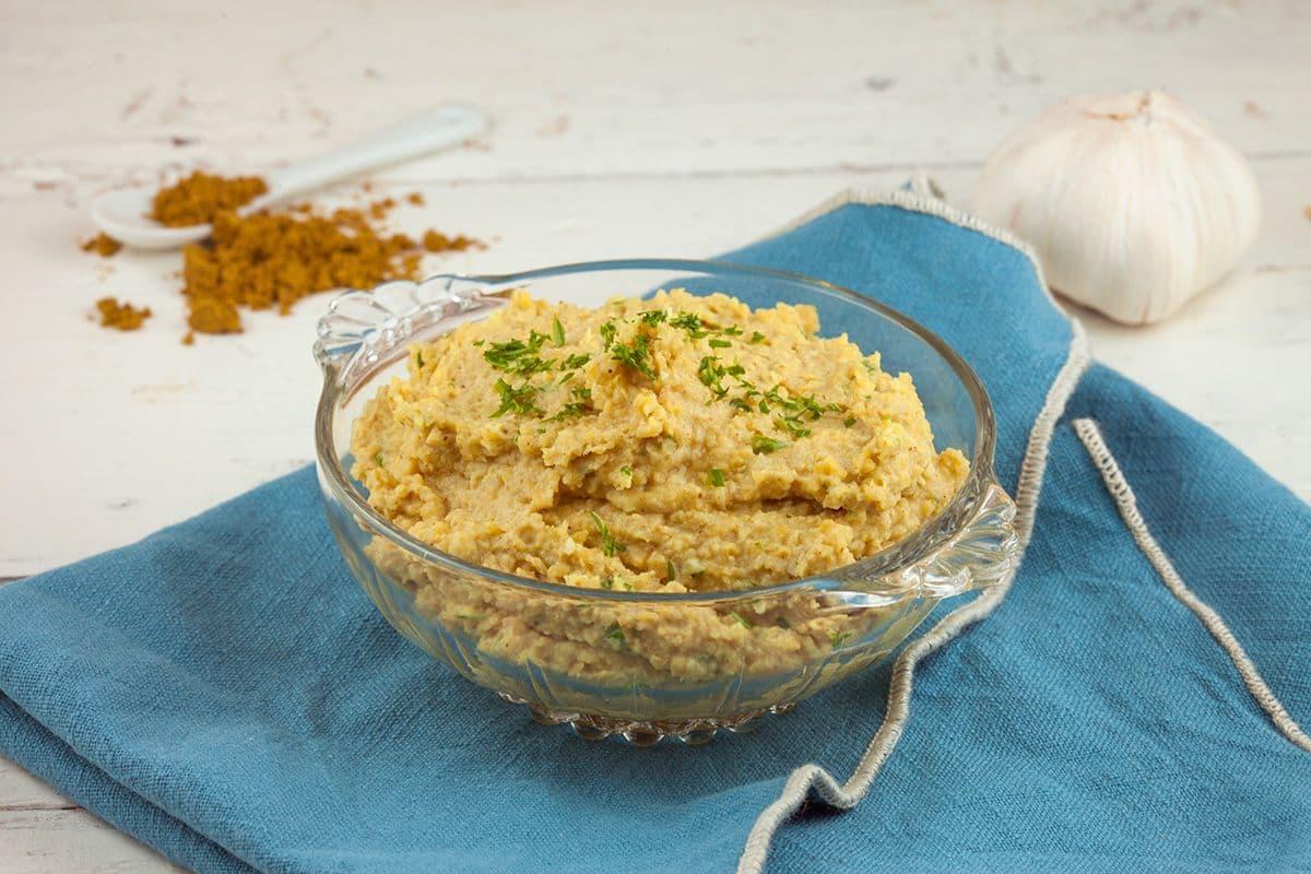 Hummus met ras el hanout