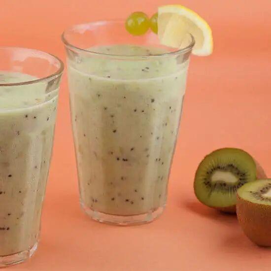 Kiwi-druiven smoothie