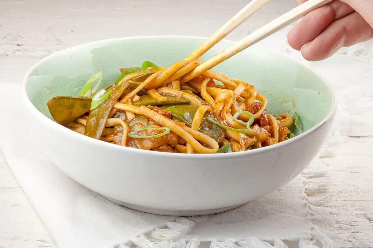Kimchi noedels