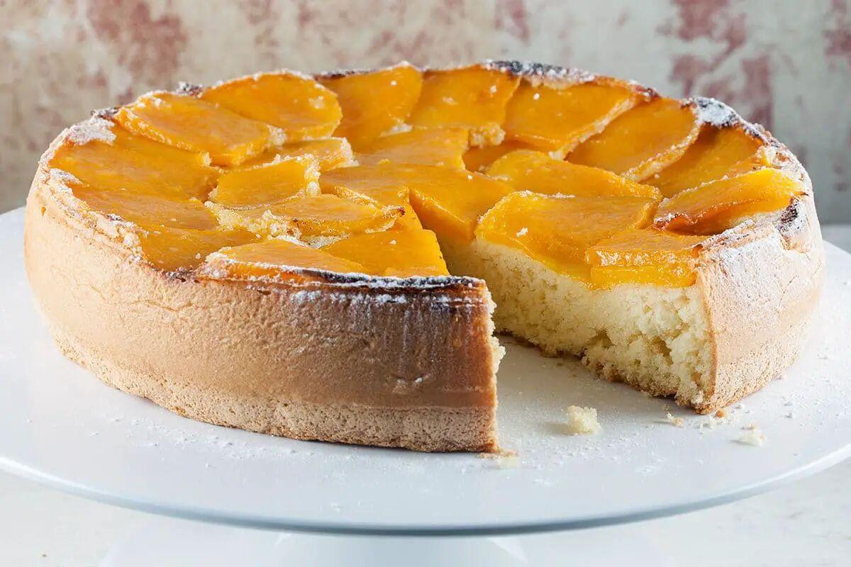 Luchtige cake met mango