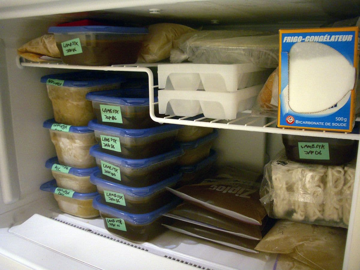 Hoe koel je eten snel af?